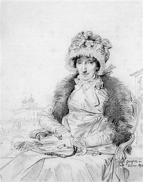 Mrs John Mackie, born Dorothea Sophia de Champs - Jean-Auguste-Dominique Ingres