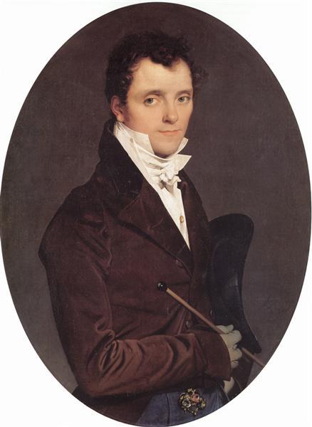 Portrait of Edme Bochet, 1811 - Jean Auguste Dominique Ingres