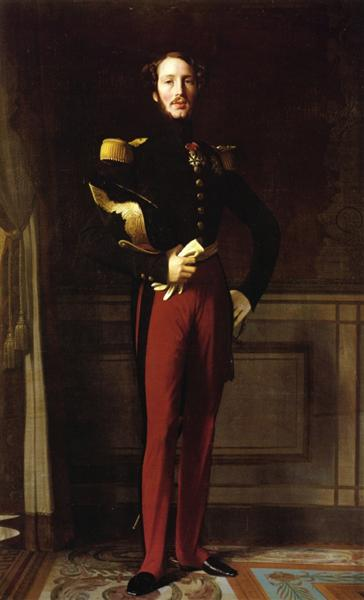 Portrait of Ferdinand-Philippe, Duke of Orleans, 1842 - Jean Auguste Dominique Ingres
