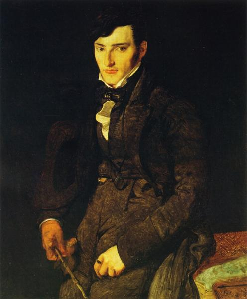 Portrait of Jean-Pierre-Francois Gilibert, 1804 - 1805 - Jean Auguste Dominique Ingres