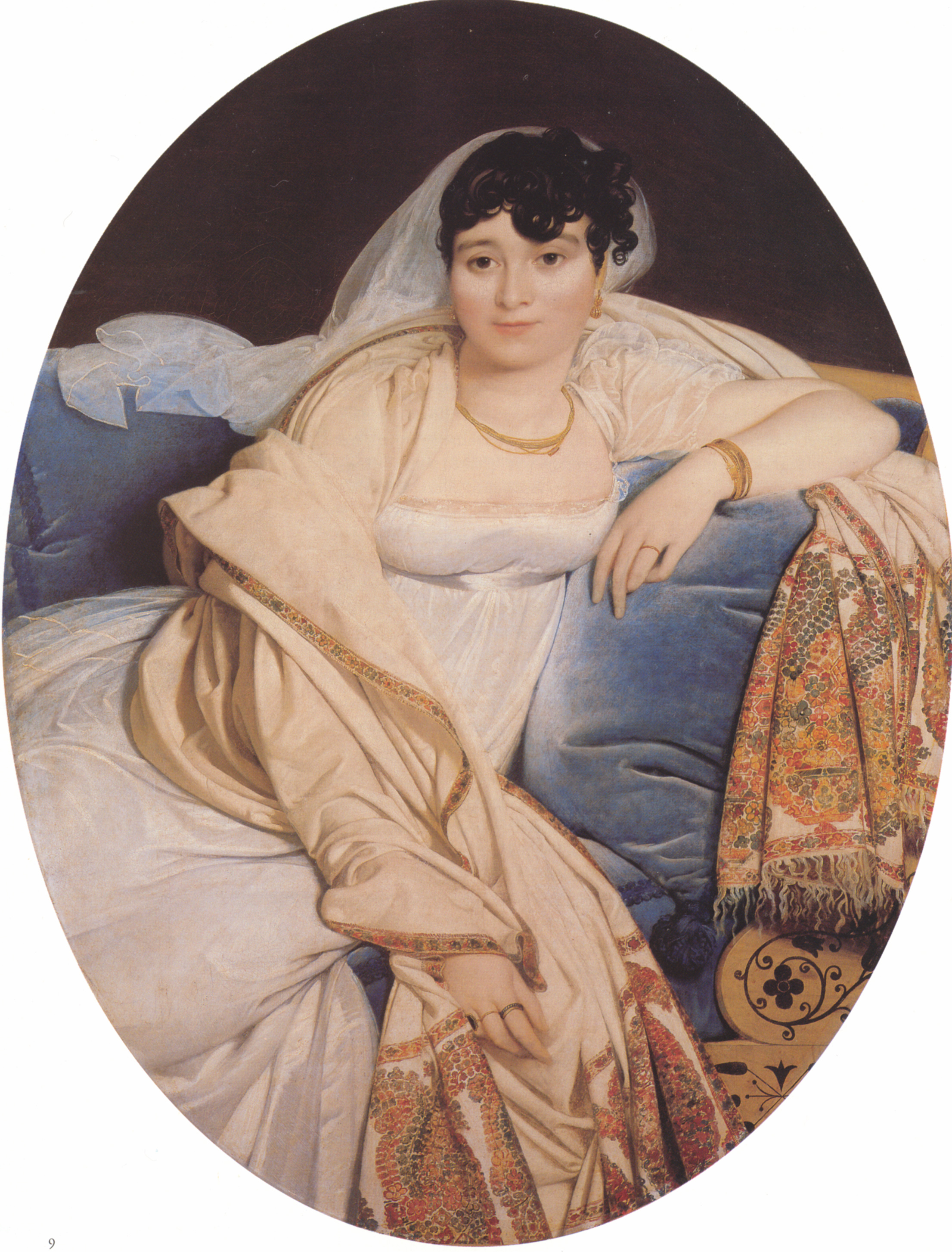 Portrait of Madame Riviere nee Marie Francoise Jacquette Bibiane Blot de Beauregard, 1806