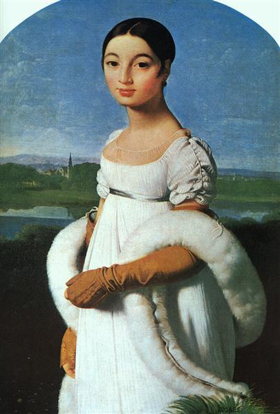 Portrait of Mademoiselle Rivière, 1805 - Jean Auguste Dominique Ingres
