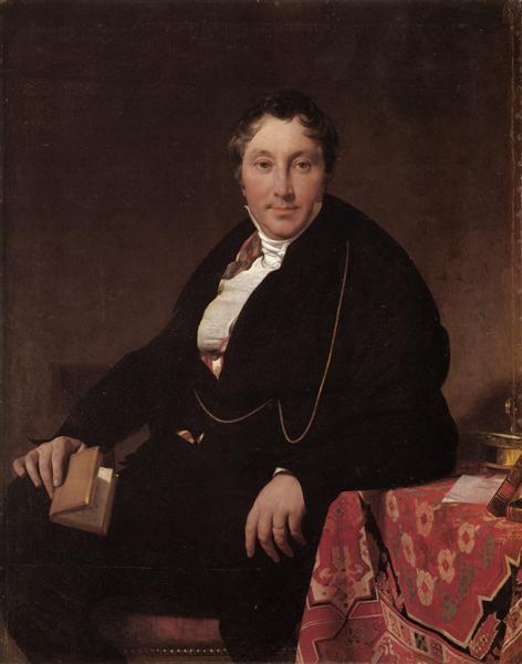 Portrait of Monsieur Leblanc, c.1823 - Jean Auguste Dominique Ingres