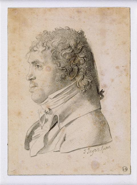 Portrait Suvée, director of the Academy of France in Rome, 1806