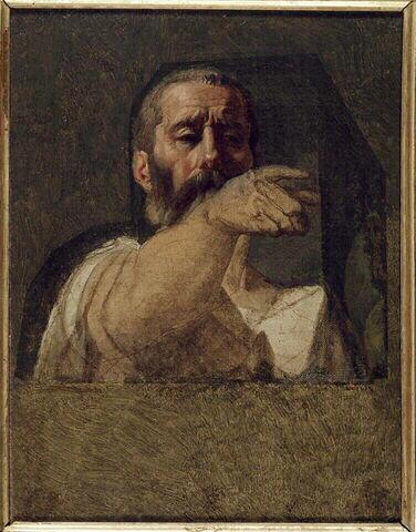Study for the centurion of the Martyrdom of Saint Symphorien, 1824 - 1834 - Jean Auguste Dominique Ingres