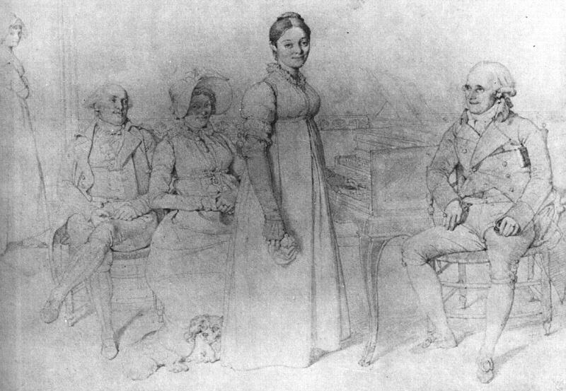 The Forestier Family, 1806