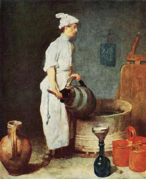 The Cellar Boy, c.1738 - Jean-Baptiste-Simeon Chardin
