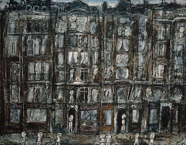 Apartment Houses, Paris, 1946 - Jean Dubuffet
