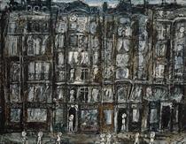 Apartment Houses, Paris - Jean Dubuffet