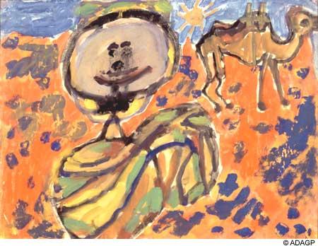Arabcamelsaddled, 1948 - Jean Dubuffet
