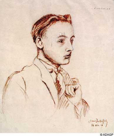 Portrait of Armand Salacrou, 1917 - Jean Dubuffet