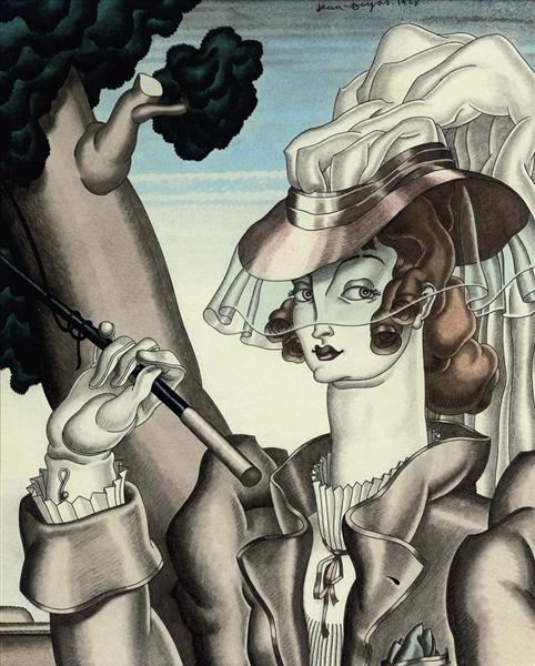 The Riding Crop, 1928 - Jean Dupas