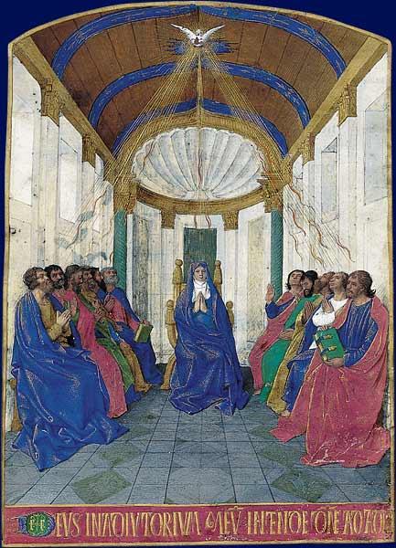 Pentecost - Jean Fouquet