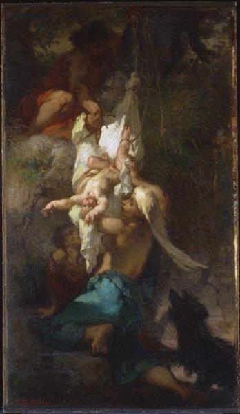 Oedipus Taken Down from the Tree - Jean-François Millet