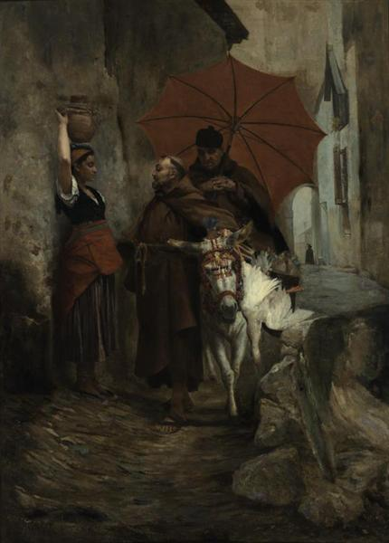 The Distraction, 1888 - Жан Жорж Вибер