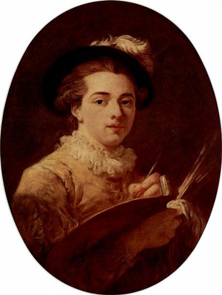 Self-portrait, c.1760 - 1770 - Jean-Honore Fragonard