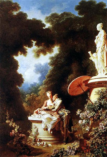 The Confession of Love, 1771 - Jean-Honore Fragonard