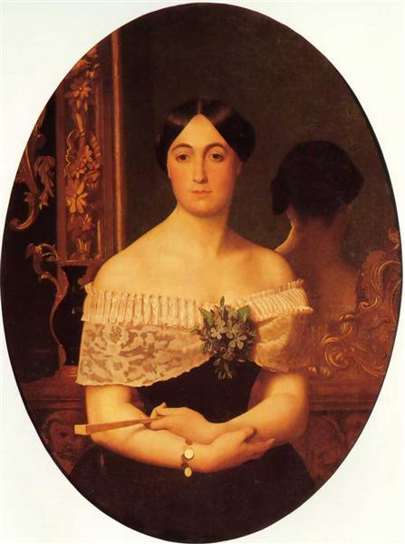 Portrait of Marianne Elisa Birch, 1849 - Jean-Leon Gerome