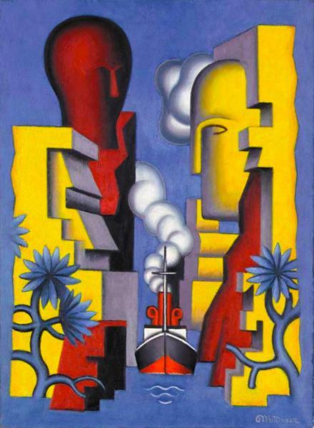 L'Isthme de Corinthe, 1928 - Jean Metzinger