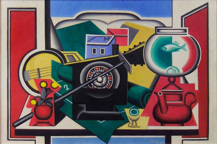 La Roulette, 1924 - Jean Metzinger