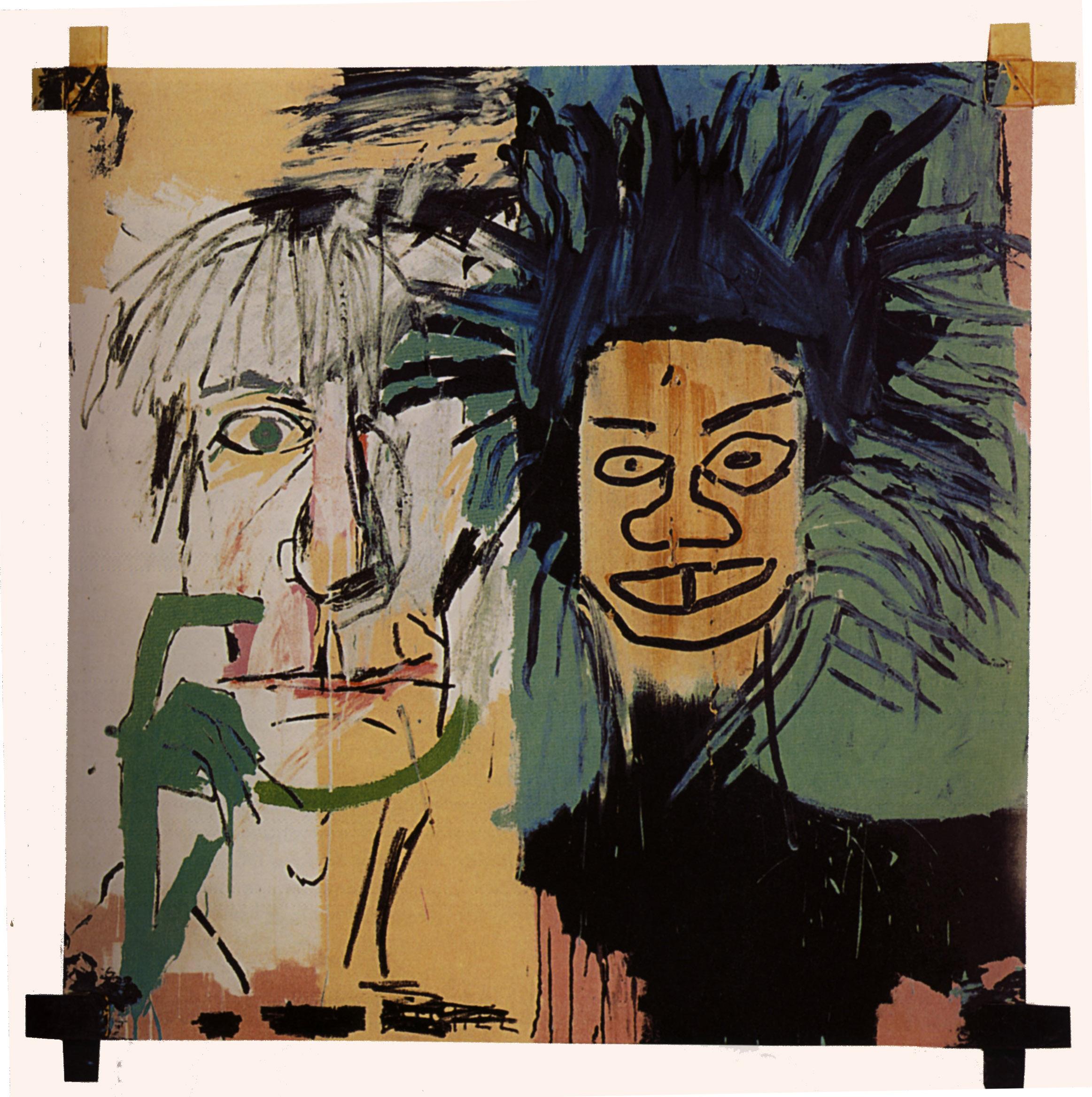 Philistines, 1982 - Jean-Michel Basquiat - WikiArt.org