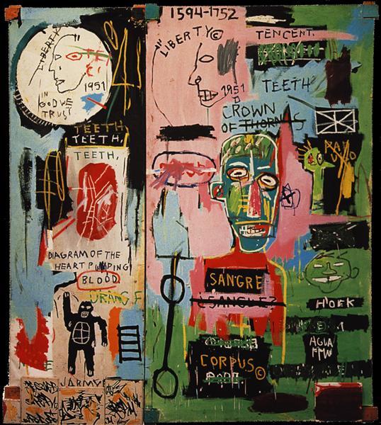 In Italian, 1983 - Jean-Michel Basquiat - WikiArt.org