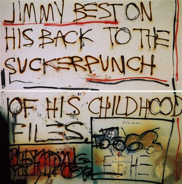 Jimmy Best..., 1981 - Jean-Michel Basquiat