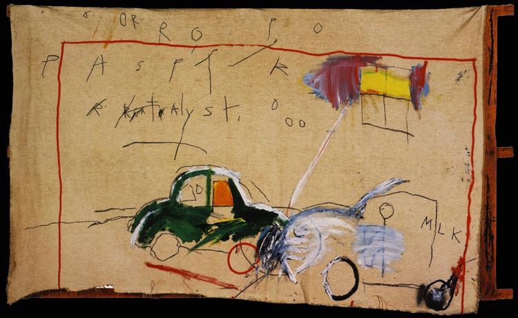 Untitled, 1980 - Jean-Michel Basquiat