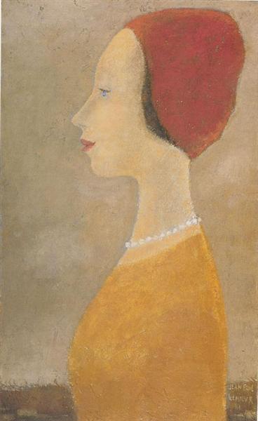 Portrait, 1961 - Jean Paul Lemieux