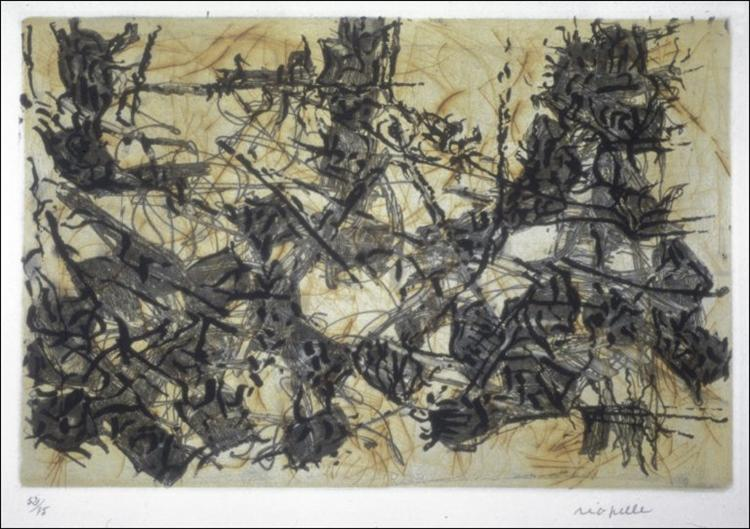 Constructions chimériques, 1967 - Jean-Paul Riopelle