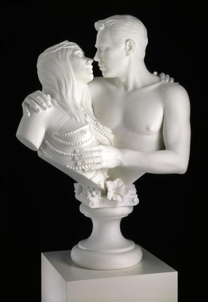 Bourgeois Bust - Jeff and Ilona - Jeff Koons