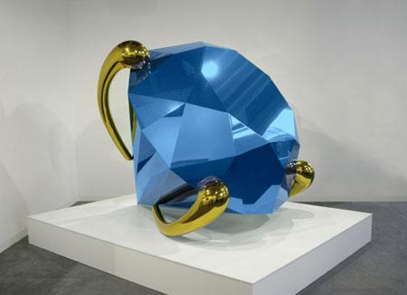 Diamond (Blue) - Джефф Кунс