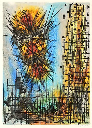 Observation VII, 1965 - Jimmy Ernst