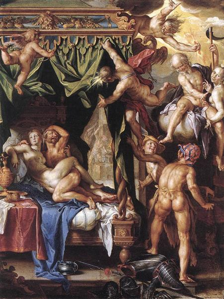 Mars and Venus Discovered by the Gods, 1603 - 1604 - Йоахим Эйтевал