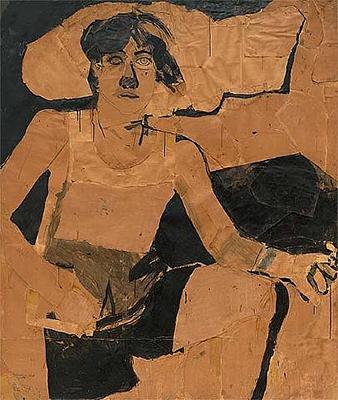 Self Portrait with Cloud & Cigarette, 1964
