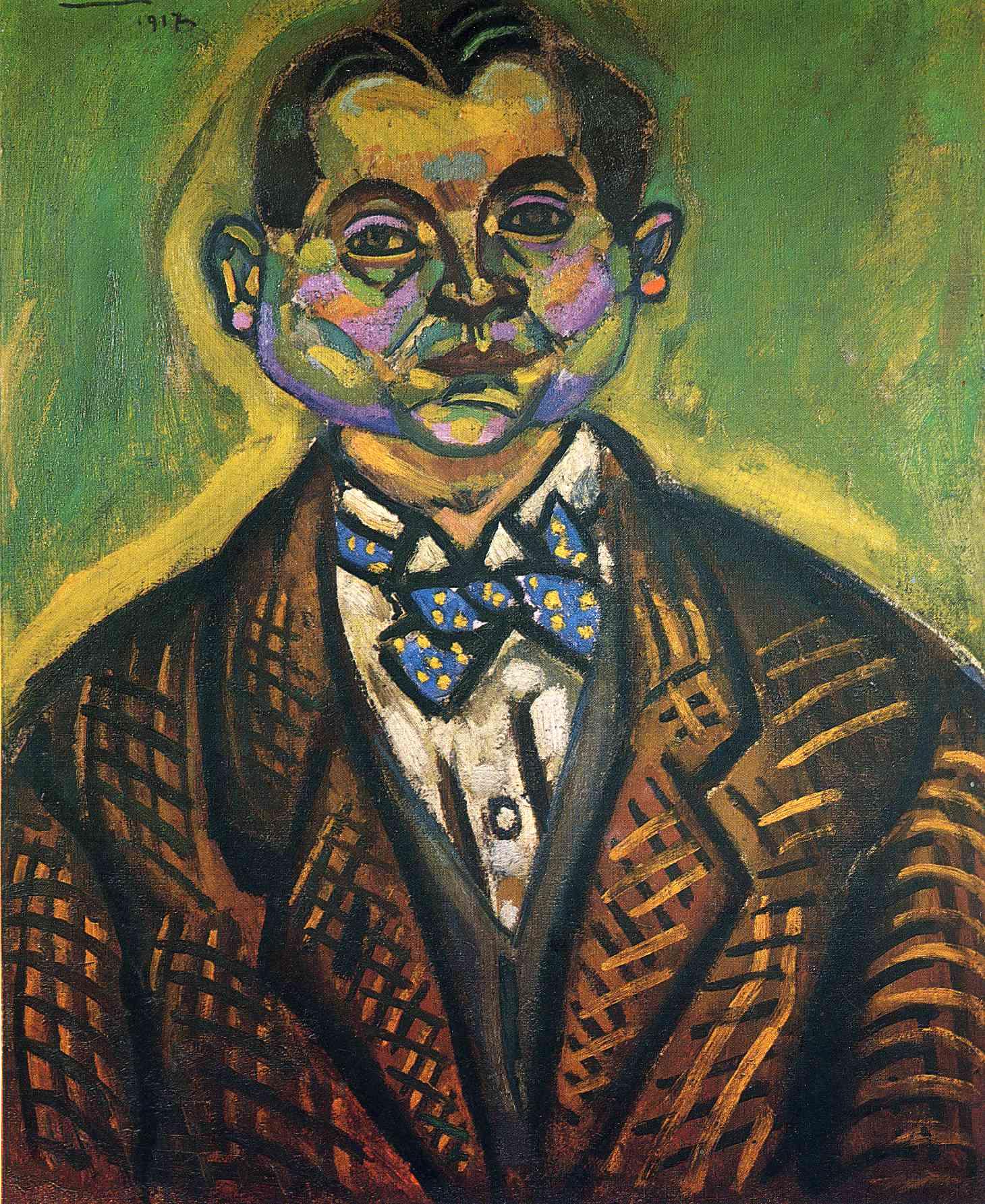 Self-Portrait - Joan Miro Joan Miro Fauvism