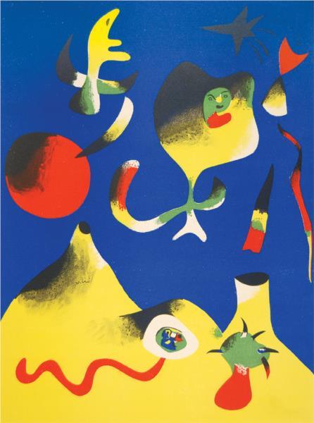 The Air, 1937 - Joan Miro