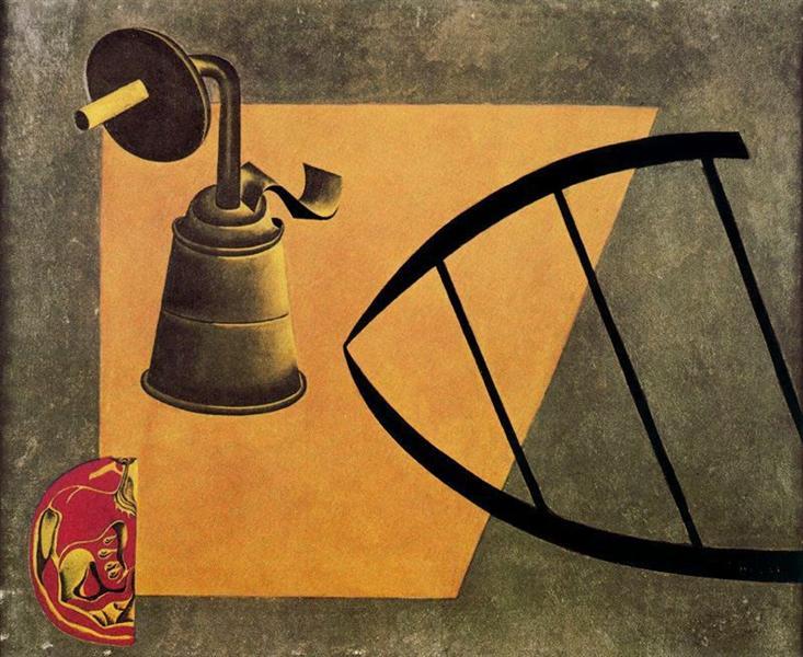 The Carbide Lamp, 1922 - 1923 - Joan Miró