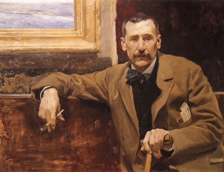 Benito Perez Galdos, 1894 - Joaquín Sorolla