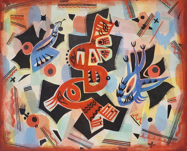 Indian Myth, 1948 - Джок Макдональд
