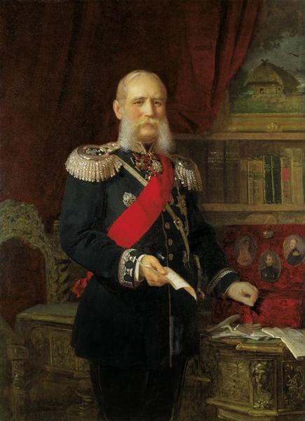 Portrait of Dr. Philipp Karell, Emperor's Physician, 1886 - Йоган Келер