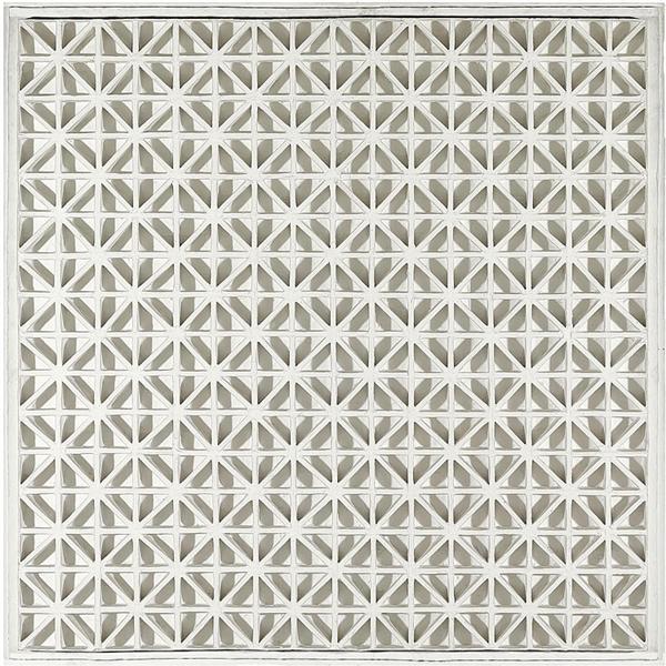 Square Relief with Diagonals, 1968 - Johannes Jan Schoonhoven
