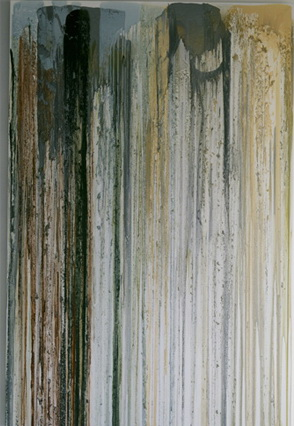 Untitled (Pour Painting) 1991 - John Armleder
