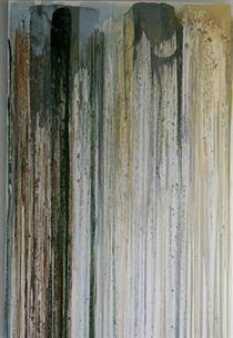 Untitled (Pour Painting) 1991 - John Armleder