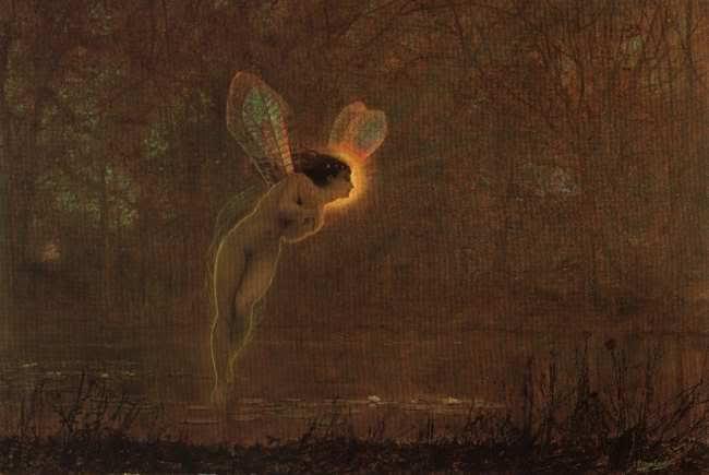 Iris, 1886 - John Atkinson Grimshaw