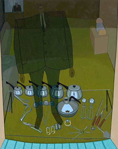 Inside and outside (The shop window), 1972