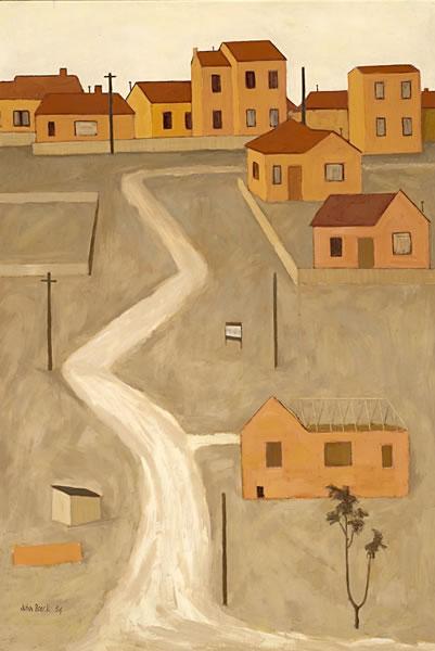 The unmade road, 1954 - John Brack