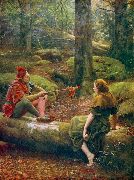 In the Forest of Arden, 1892 - John Collier
