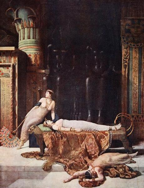 The Death of Cleopatra, 1910 - John Collier