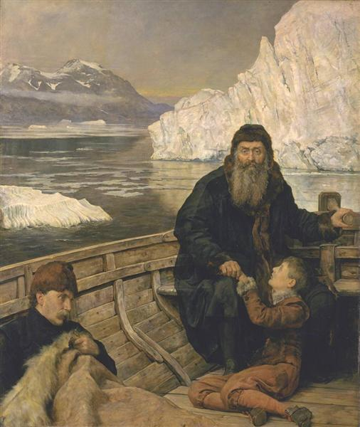 The Last Voyage of Henry Hudson, c.1881 - John Collier